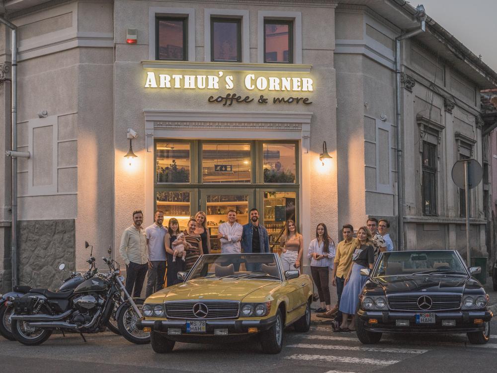 Arthur`s Corner cover