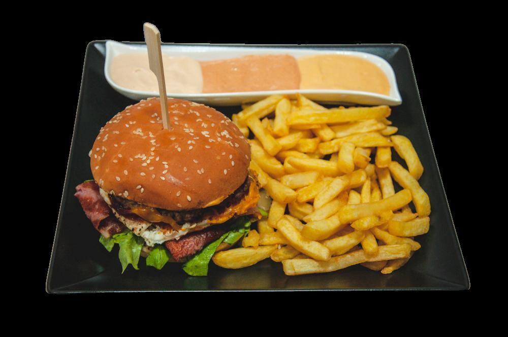 Burger God cover
