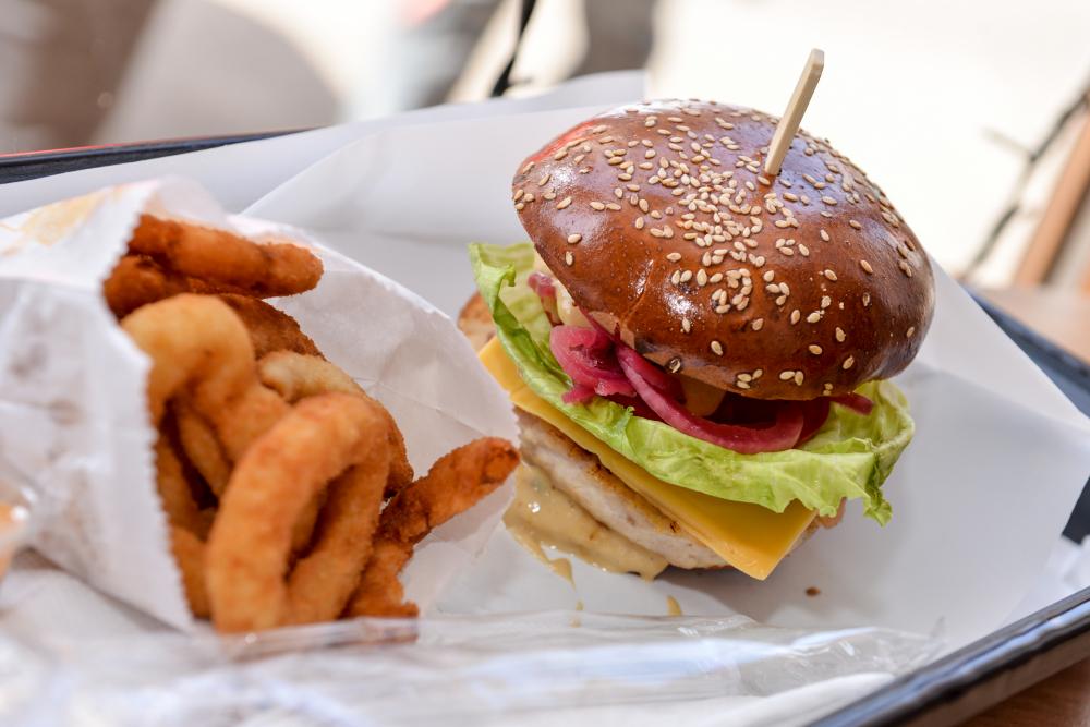 Aria Gourmet Burger cover