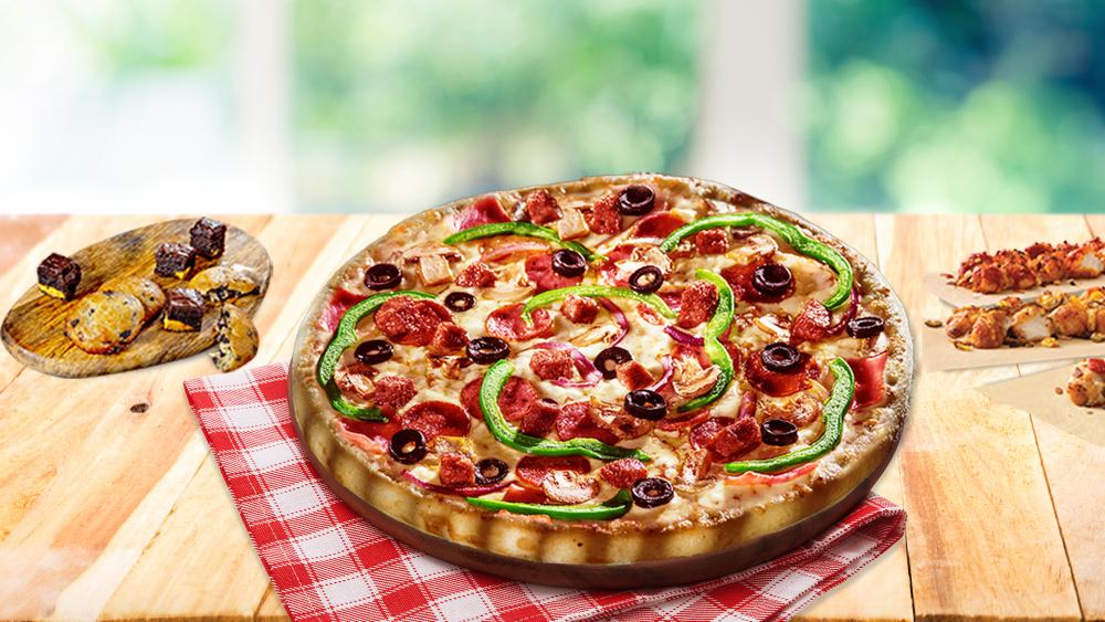 Domino`s Pizza Liviu Rebreanu cover