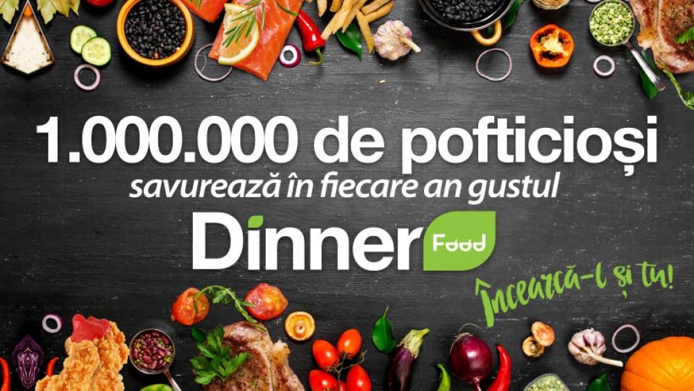 Dinner Food Cora Pantelimon cover
