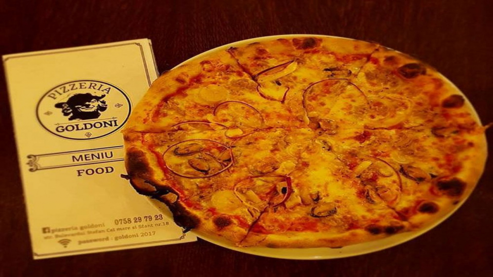 Pizzeria Goldoni cover