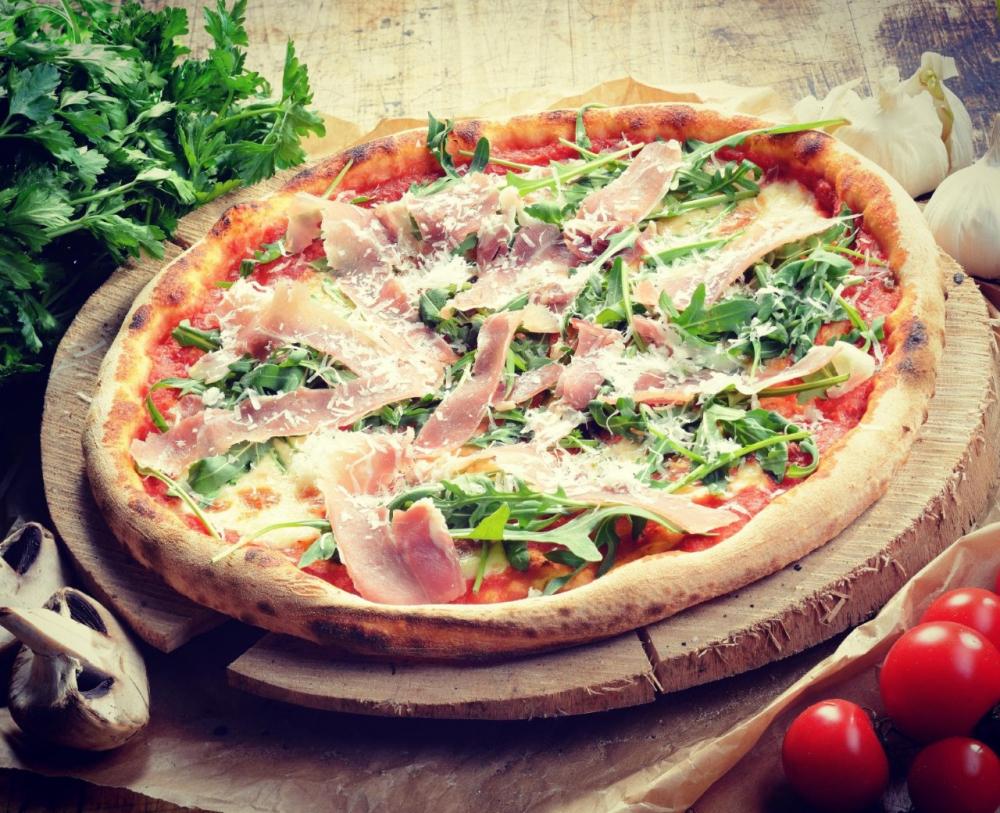Pizza Bonita Vulcan cover