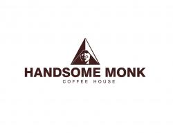 Handsome Monk Coffee House logo