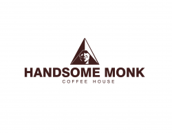Handsome Monk Coffee Roastery logo