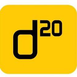 D20 logo