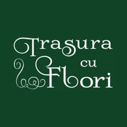 Trasura cu flori  logo