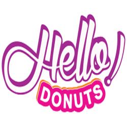 Hello Donuts & 5 to Go Coffee Park Lake logo