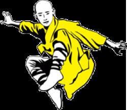 Kung Fu King Auchan Titan logo