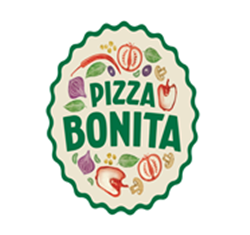 Pizza Bonita Strip Mall logo