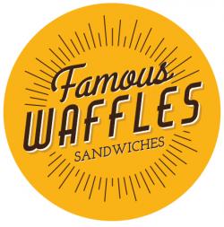 Famous Waffles Mega Mall logo