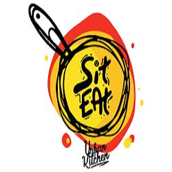 Sit, Eat - Creative Burgers logo