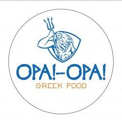 Opa!-Opa! Greek Food logo