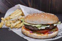 Hamburger+cartofi  image