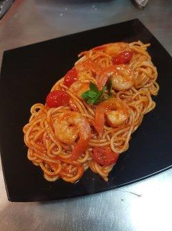 Spaghetti cu creveți image