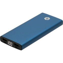 Acumulator extern A+, 10.000 mAh Slim, 2 porturi USB, conectivitate micro USB
