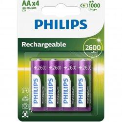 Acumulatori Philips AA 2600 mAh, 4 buc