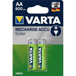Acumulatori Varta pentru lampi solare, AA, 800 mAh, 2 buc