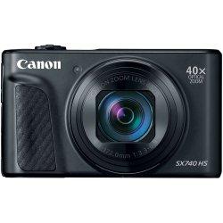 Aparat foto digital Canon Powershot SX740HS, 20.3MP, 4K, Negru