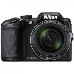 Aparat foto digital Nikon COOLPIX B500, 16MP, Negru