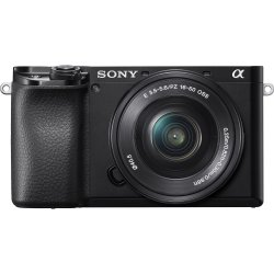 Aparat foto Mirrorless Sony Alpha A6100, 24.2MP, Negru + Obiectiv 16-50mm