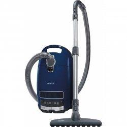 Aspirator cu sac Miele Complete C3 Parquet PowerLine- SGSF3, 890 W, 4.5 L, Filtru AirClean +, Albastru