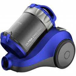 Aspirator fara sac Daewoo RCC-120L/2A, 800 W, 2L, Filtru Hepa, Ciclonic, Albastru