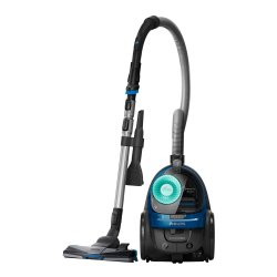Aspirator fara sac Philips PowerPro Active FC9552/09, 650 W, 1.5 L, filtru anti-alergeni, Albastru