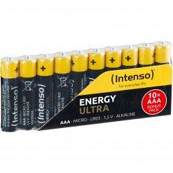 Baterii Alcaline Intenso Energy Ultra, AAA, 10 buc