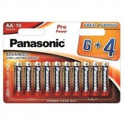Baterii Panasonic Pro Power Gold Alkaline AA, 10 buc