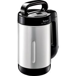 Blender cu functie de gatire Tefal BL542831 My Daily Soup, 1000 W, 1.2 L, 4 programe automate, Inox/Negru
