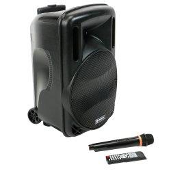Boxa portabila A+ Latino USB, SD Card, FM, Bluetooth