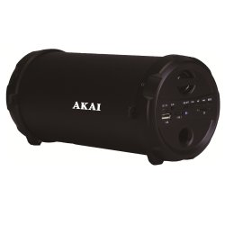 Boxa portabila Akai, ABTS-11B, 10W, Bluetooth, Radio, Negru