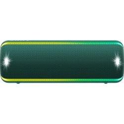 Boxa portabila Sony SRS-XB32G, Extra Bass, LIVE SOUND, Fiestable, Wireless Party Chain, Party Booster, Efect de lumini, Rezistenta la apa IP67, Bluetooth 4.2, NFC, Autonomie 24 ore, USB cu functie de incarcare, Verde