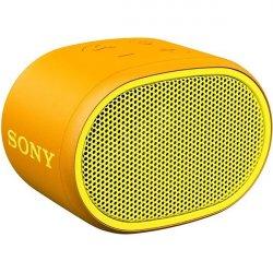 Boxa portabila Sony SRSXB01Y, Rezistenta la stropire, Extra Bass, Bluetooth, Hands Free, Autonomie 6 ore, Galben