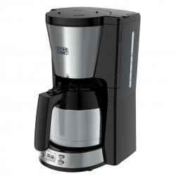 Cafetiera Star-Light CTD-1010TH, 1000 W, 1 l, Display LCD, Timer, Cana termos, Anti-picurare, Inox