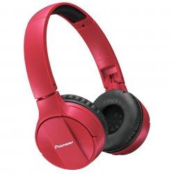 Casti audio Bluetooth, Pioneer, SE-MJ553BT-R, Rosu