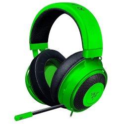 Casti Gaming Razer Kraken Tournament Edition, THX Surround, telecomanda pe fir, Verde
