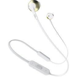 Casti In-Ear JBL T205BT, JBL Pure Bass Sound, Bluetooth, champagne gold
