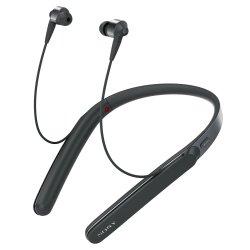 Casti in ear Sony WI-1000XB, Noise Canceling, Hi-Res, Wireless, Bluetooth, NFC, Negru