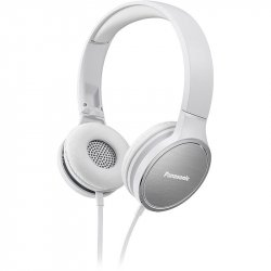 Casti on-ear Panasonic RP-HF500ME-W, Microfon, Alb