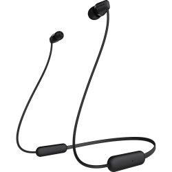 Casti SONY WIC200B, Bluetooth, In-Ear, Microfon,Autonomie baterie 15 ore, Negru