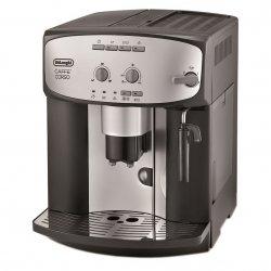 Espressor automat De`Longhi Caffe Corso ESAM2800, Dispozitiv spumare, Functie Cappuccino, Rasnita, Autocuratare, 15 Bar, 1.8 l, Negru/Inox