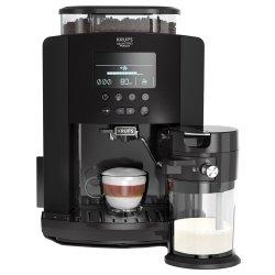 Espressor automat Krups EA819N10 Arabica Latte, 1450 W, 15 bari, 1.7 L, display, accesoriu pentru lapte, Negru