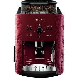 Espressor automat Krups Espresseria Automatic EA8107, 1400W, 15 bar, rezervor boabe 260g, 1.7 l, Rosu