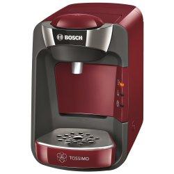 Espressor Bosch Tassimo Suny TAS 3203, 1300 W, 3.3 bar, 0.8 l, Capsule, Rosu