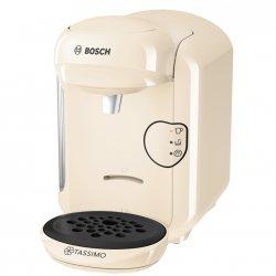 Espressor Bosch Tassimo Vivy II TAS1407, 1300w, 3.3 bar, 0.7l , autocuratare si decalcifiere, capsule, Crem