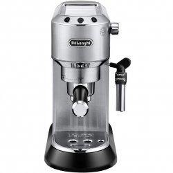 Espressor manual De`Longhi Dedica Style EC 685, 1300 W, 15 Bar, 1.1 l, Slim, Inox
