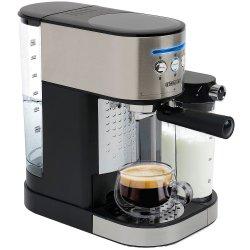Espressor manual Star-Light ESD-170SS, 15 Bar, 1.7 l, Dispozitiv spumare, Recipient detasabil lapte 0,5 l, Inox