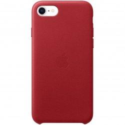 Husa de protectie Apple pentru iPhone SE 2, Silicon, Red image
